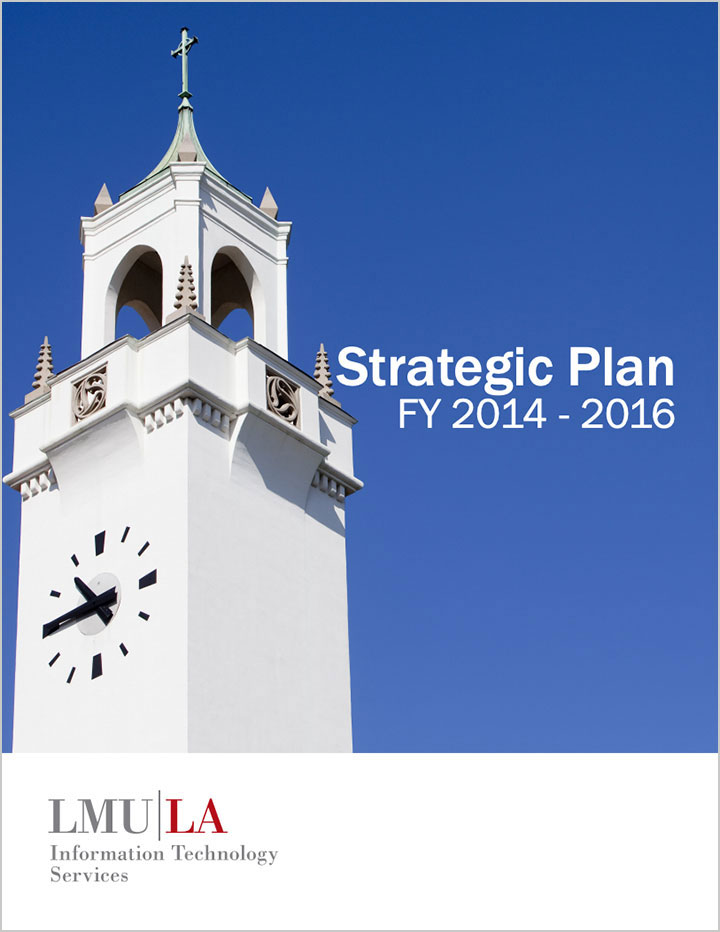Cover for the ITS Strategic Plan 2014-2016