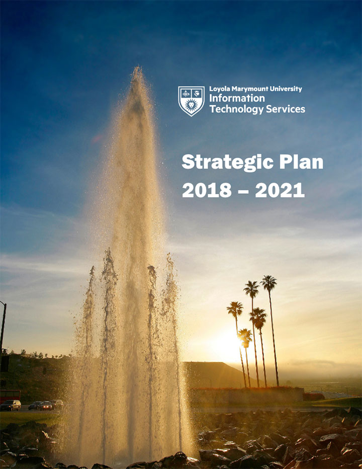 Cover for the ITS Strategic Plan 2018-2021